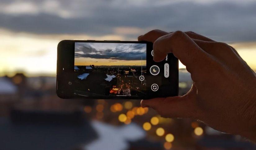 caméra pixel