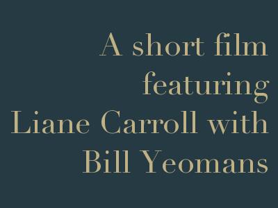 Liane Carroll with Bill Yeomans, 2 February 2018 at Googlies