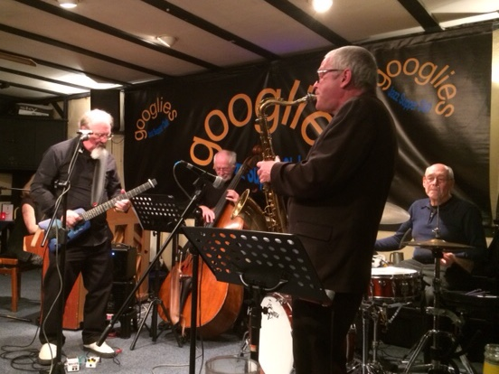 Googlies Quartet with Dave Barnes