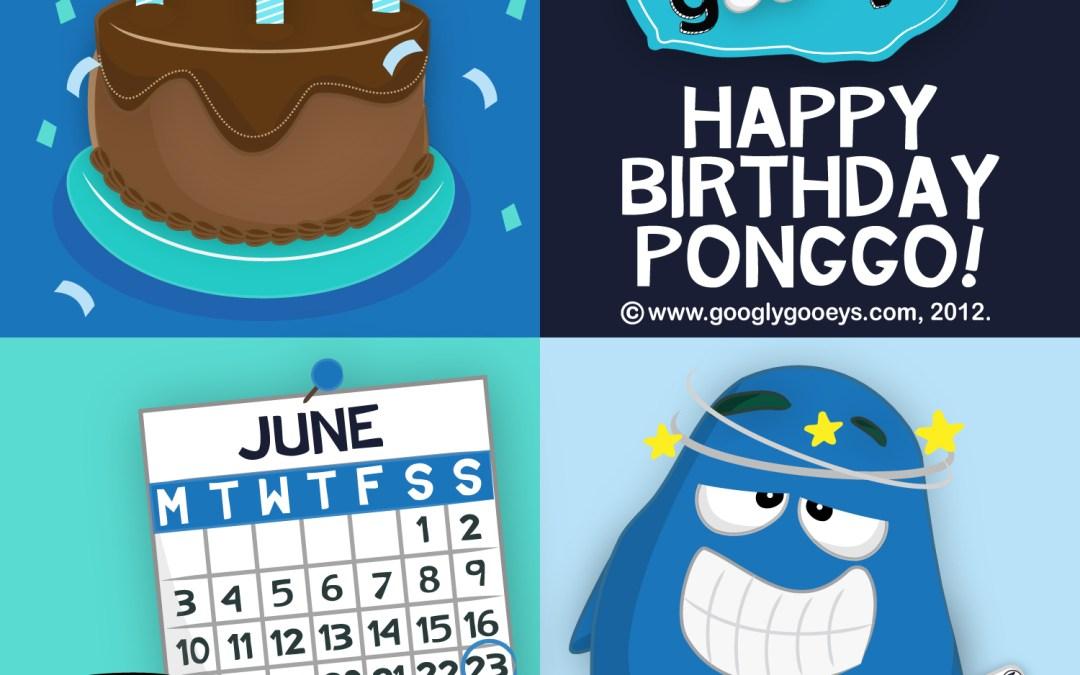 Happy Birthday Ponggo!