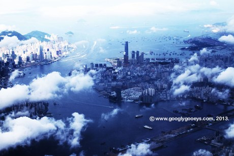 Hong Kong View from Up Above