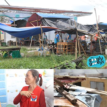 Yolanda Efforts Sara Public Market & Marlyn Sara