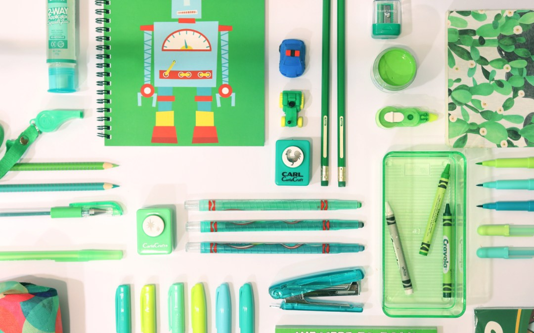Make Your Schoolyear a Colorful One!