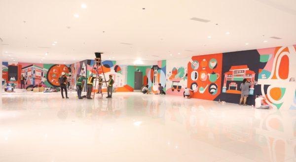 Ayala Malls All Walls Balintawak Mural