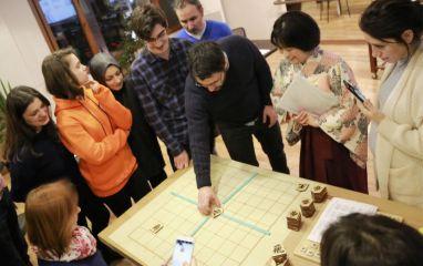 İstanbul Go Okulu'nda Shogi Eğitimleri