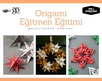 Origami Öğreticiliği Kursu
