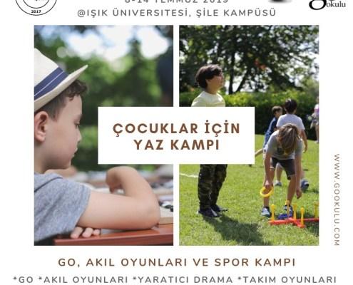 Çocuk Yaz Kampı İstanbul Şile