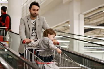 Çocuklarla alışveriş yapmak