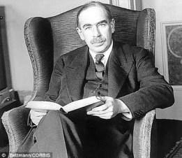 Efsanevi iktidatçı John Maynard Keynes