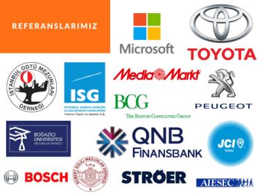 İstanbul Go Okulu'ndan eğitim alan şirketler ve kurumlar