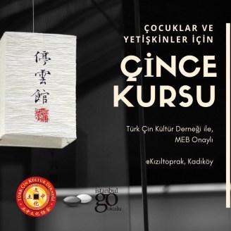 MEB onaylı Çince Kursu Anadolu Yakası'nda Kadıköy