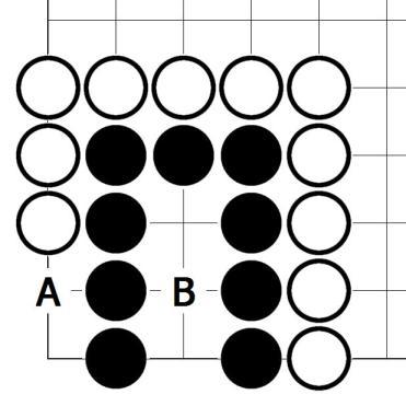 Miai - Go oyununda iki seçenek