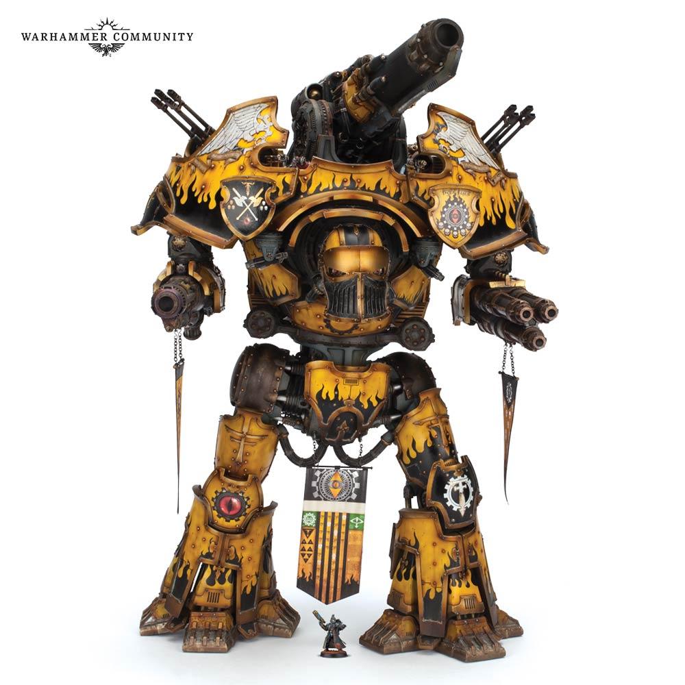 Adeptus Titanicus – State of the Game - Too Many Metal Men