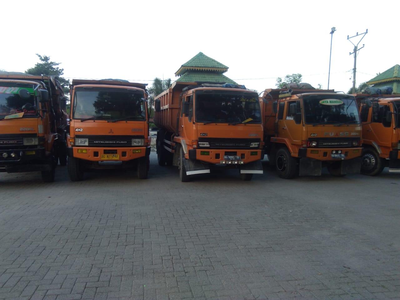 Rental Dump Truck