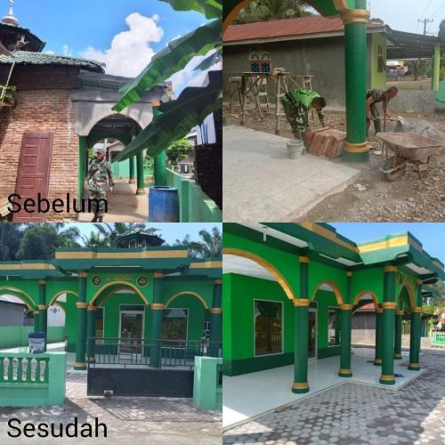 Rumah Allah SWT Al Ubudiyah Baru di Dusun 1 Kwala Gunung