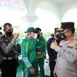 7 Personil Polda Sumut Ikut Memperkuat Provinsi Sumut dalam PON XX Papua