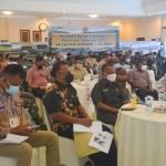 Pangdam XVII/Cenderawasih Memimpin Rakor Wilayah dalam Rangka Kunker RI 1