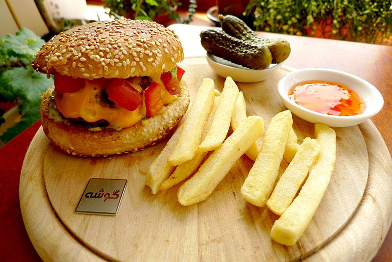 hamburger gooshe
