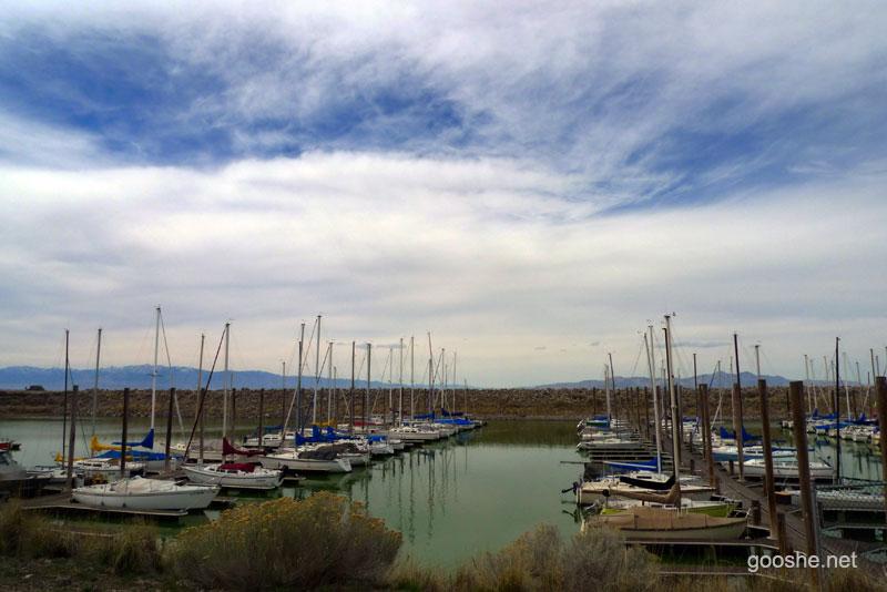 قایقرانی دریاچه نمک