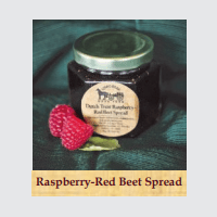 Raspberry-Red Beet Spread