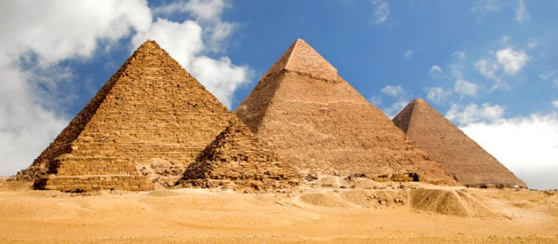 The Great Pyramids of Egypt, Giza, Africa