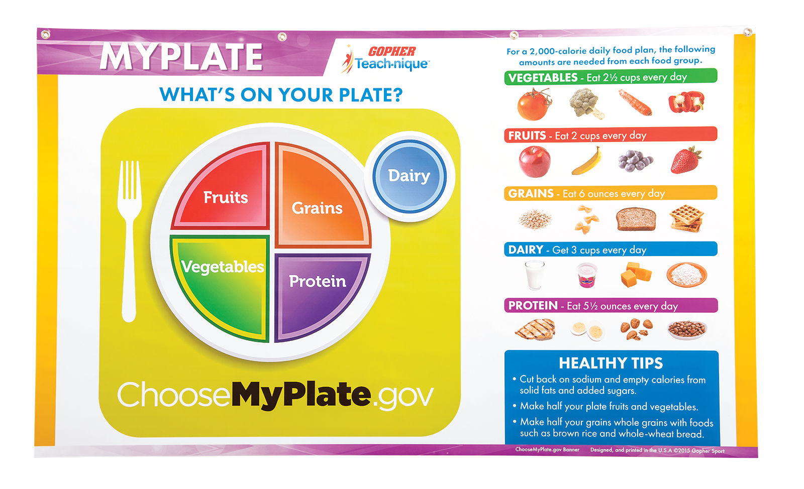 Teach Nique Myplate Instructional Banner