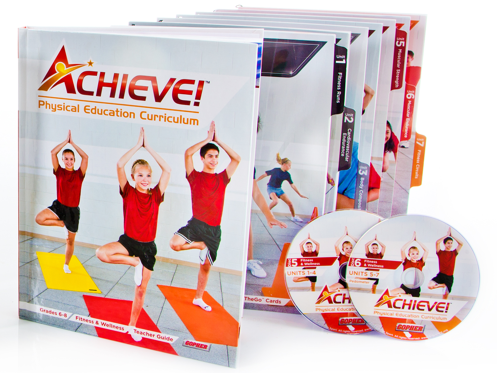Achieve Middle School Physical Education Curriculum