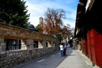 塞拉耶佛老城區清真寺外牆