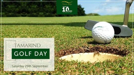 Tamarind Golf Day