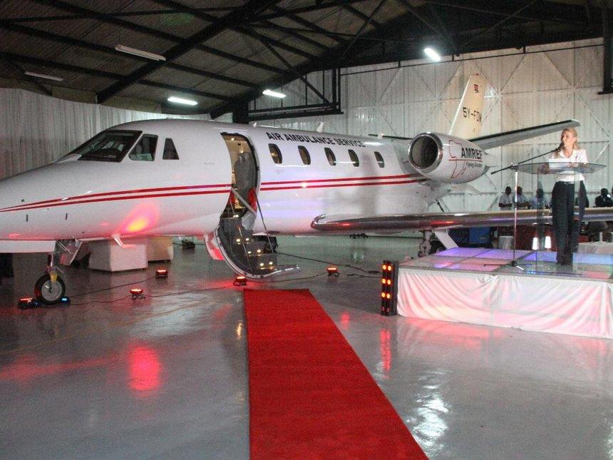 Amref Cessna Citation XLS