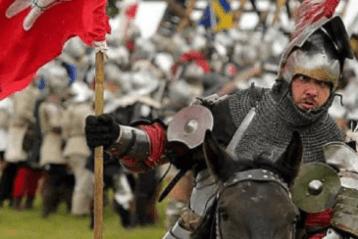 Грюнвальдская битва. В Польше воссоздали битву 1410 года. Фото