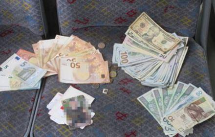 Забывчивому украинцу вернули пакет с кругленькой суммой в валюте, оставленный в автобусе Вроцлава