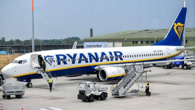 Ryanair увеличил число рейсов между Киевом и Варшавой с  ноября