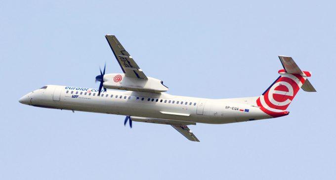 У аеропорту Познані аварійно сів літак