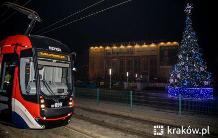 У Кракові вирушив у поїздку перший безплотний трамвай. Відео