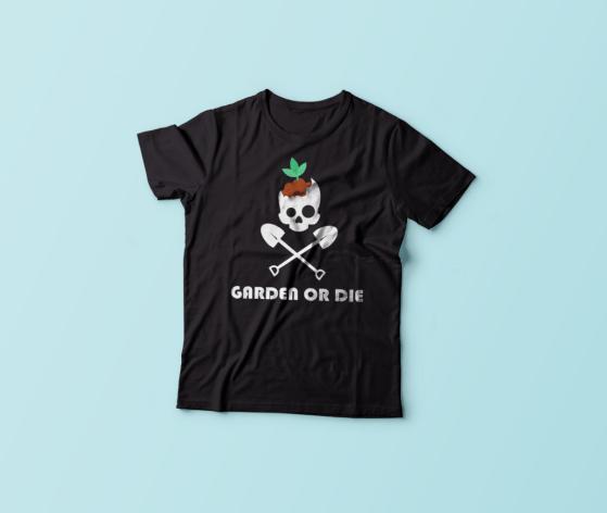 garden or die Lobotany tshirt