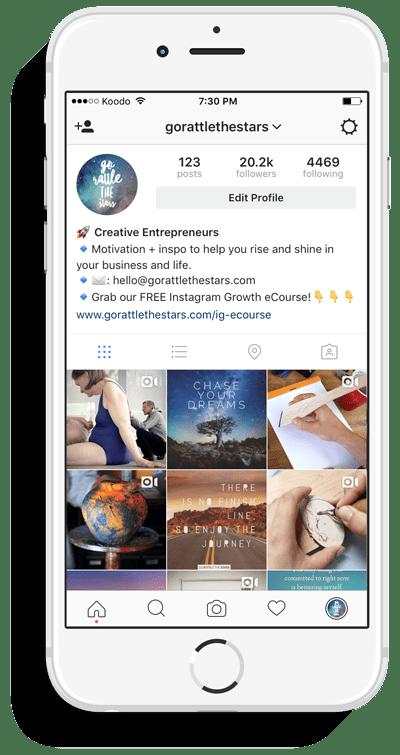 free Instagram course Jumpstart Your Instagram 10K