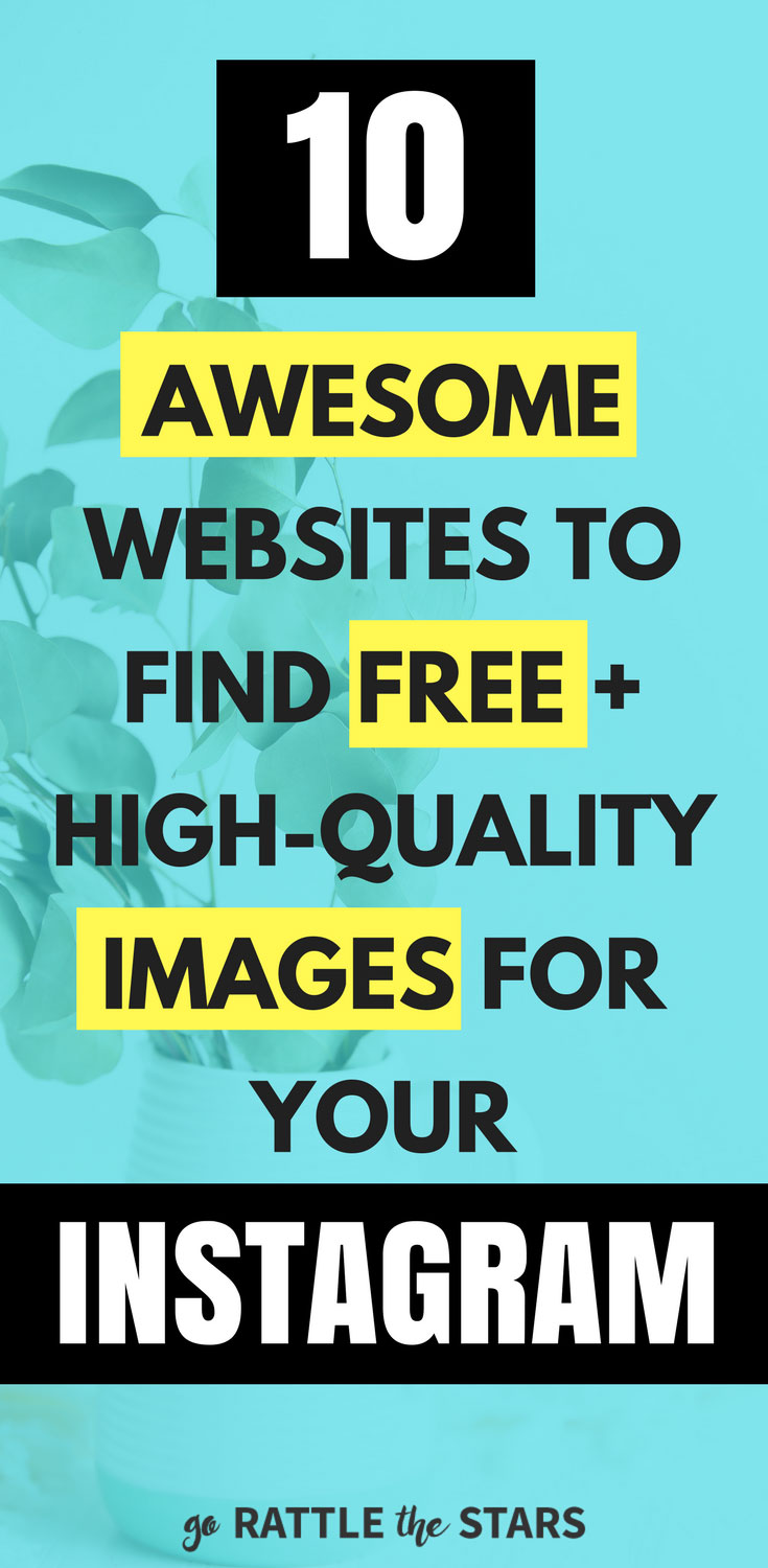 10 Awesome Websites To Find Free Instagram Photos