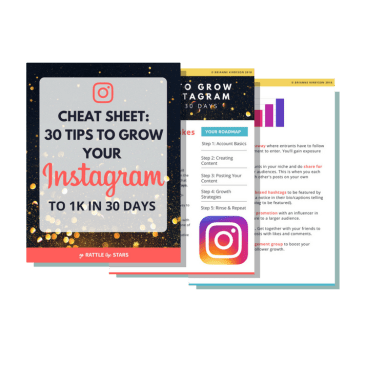 Email incentive | How to make money on Instagram for your business