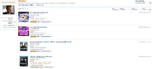 Amazon.co.uk: Gordon S Valentine: Wishlist