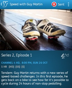 Speed with Guy Martin - 26-10-2014 (YouView app)