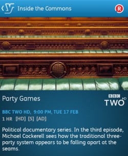 In the Commons - 17-02-2015 (YouView app)