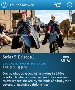 Call the Midwife - 17-01-2016 - YouView app
