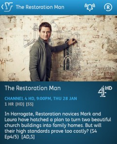 The Restoration Man - 28-01-2016 - YouView app