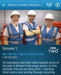 Britain's Hardest Workers - 22-08-2016 - YouView app
