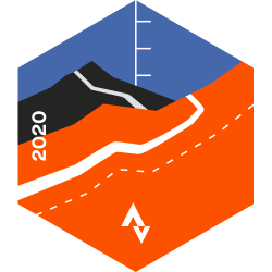 August 2020 Cycling Climbing Challenge