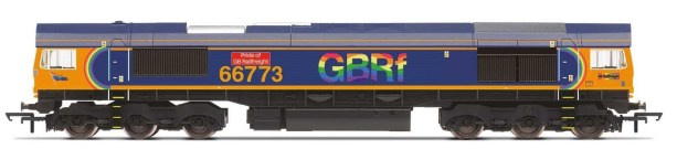 GBRf, Class 66, Co-Co, 66773 'Pride of GB Railfreight' - Era 11