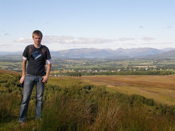 Killearn and Loch Lomond from Campsie Fells