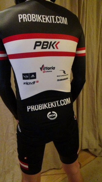 PBK Team Long Sleeve Skinsuit