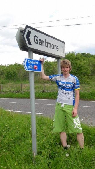NCR 7 route to Gartmore